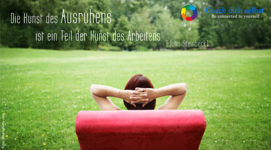 Gelassenheit - Stressmanagement-Training